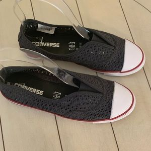 Converse Shoes - Converse Women's Crochet Cove Slip On Sneakers 7